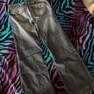 Express X2 flare wide leg jeans❤️❤️